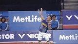 2014年韩国羽毛球公开赛男单决赛-谌龙 ( 中国 ) VS 李宗伟 ( 马来西亚 )