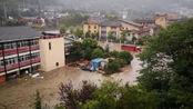 汶川暴雨引发泥石流,已致4人遇难11人失联