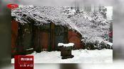 峨眉山景区积雪达10厘米