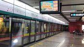 广州地铁8号线9年来最后一班开往凤凰新村的列车赤岗进站(08x163-164)