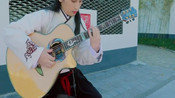叶锐文户外吉他指弹红楼梦序曲一段充满仙气的演奏