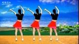 健身操广场舞《红莓花儿开》,动感活力,好听(红裙)