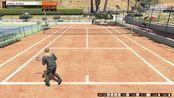 (GTA5)新一代网球王子 李娜附体