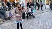 外国街头小提琴演奏Carol of the Bells 钟声颂歌