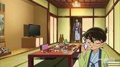 名侦探柯南:柯南陪着毛利小五郎旅行,这画面有点不敢直视