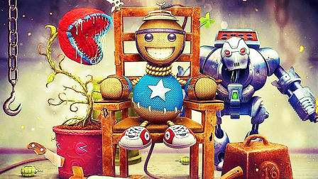 【屌德斯解说】 疯狂木偶人 旅行的青蛙从天降!木偶大战巨型机器人!