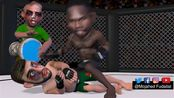 Israel Adesanya goes to WAR with Kelvin Gastelum to become the second African CH