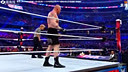 WWE2016年4月4日 PPV《摔角狂热32大赛》布洛克·莱斯纳对阵迪恩