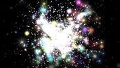 v167 2k分辨率超唯美绚丽七彩光效粒子运动晚会大屏幕舞台LED背景视频素材 学校晚会视频 视频配乐