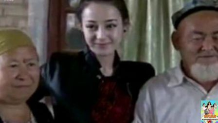 13年央视新闻居然采访过迪丽热巴, 尴尬了, 整没整容一眼就看穿