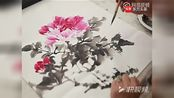 中国画艺术——怎样画国画牡丹04