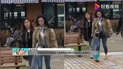 杨幂现身拍戏被偶遇,女助理用手指着粉丝喊话不让拍引发争议!