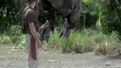 侏罗纪公园3,这场面真的是紧张刺激,深深的吸了口冷气