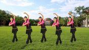 广场舞《三月桃花雨》原创古典形体舞附分解教学