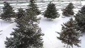 赤峰2016初雪航拍