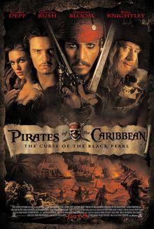 加勒比海盗1(黑珍珠号的诅咒)