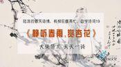 《静听春雨赏杏花》陆游的春天诗,桃柳狂蝶燕忙,诗词加油站19