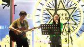 《遇见》街头吉他弹唱(演唱:佘晓璐,吉他:汤大勇)(第三十九期)
