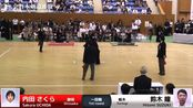 Sakura UCHIDA -eM Hitomi SUZUKI - 54th All Japan Women KENDO Championship - Fir