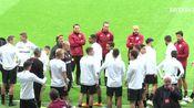 勒沃库森-20191022欧冠备战马竞-15 Minuten Abschlusstraining vor Atlético Madrid