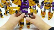 变形金刚_建设装备汽车玩具_黄锦江构造汽车机器人变身玩具卡车玩具【俊和他的玩具们_11