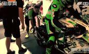 【淘摩网】川崎摩托车队公路比赛实拍视频_摩托车