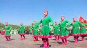广场舞《草原情哥哥》团队舞蹈,舞步整齐好看,一起来跳舞吧