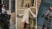 【Chriselle Lim】巴黎时装周 观秀穿搭:Givenchy, Valentino, Giambattista Valli, LV,Chanel