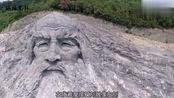 湖北岘山耗资2.5亿雕刻伏羲头像,渴望能像乐山大佛一样拉动旅游