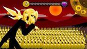 火柴人战争:战役篇完结,召唤史前巨兽挑战斯巴达300勇士