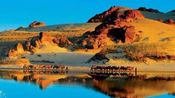 最美赤峰之玉龙沙湖航拍景色漂亮空气真棒