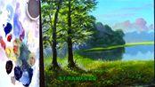 降央卓玛 一首《西海情歌》油画版,旋律醉心,怎么听都不够!