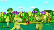 儿童英文歌曲:五只青蛙吃害虫