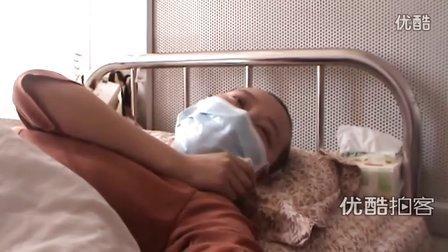 """[拍客]""""病房中的春天里""""白血病女孩李雅楠"""