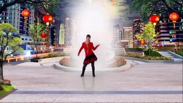 广场舞《开门红》2017年祝愿各位红红火火