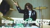 DRUM尊{Victor the Drum Destroyer}Billie Eilish-Bad Guy Drum Cover