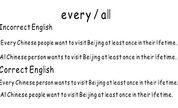 every all杰森帮你纠正英语口语表达错误18