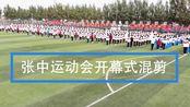 【独秀视频】张家窝中学2019年秋季运动会开幕式混剪