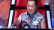 """中国好声音 第4季中国好声音:""""胖小子""""开口惊艳导师,哈林秒转,那英陶醉 !"""
