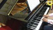 夏至未至插曲 《追光者》 钢琴表演 才艺视频