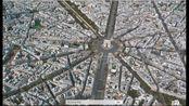 【3D看世界】法国巴黎埃菲尔铁塔卢浮宫巴黎圣母院大皇宫凯旋门