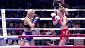 昆仑决最美女拳手伊卡翠娜KO视频,野兽般的美女