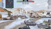【重坦kv/坦克世界闪击战】查迪伦25T;普洱勋章6杀