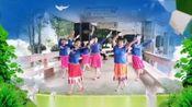 澄江广场欢乐健身队:格桑花开。(小组)。