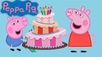 佩奇小猪动画片全集 佩奇和乔治为了救落水的