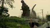 日本最大的哥斯拉复活,刚登陆就一脚踏平了东京