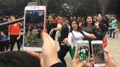 转战商城遗址公园,郑州尬舞又回来了