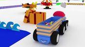 幼儿教育:和火车泰德《认识物体》有趣卡通孩子更喜欢!