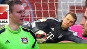 德甲5大扑点高手:诺伊尔仅排第4 莱诺9次扑点排第1