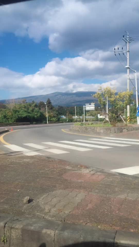 济州岛的汉达山